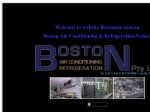 View More Information on Boston Air Conditioning & Refrigeration Pty Ltd