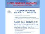 View More Information on I Fix Mobile Phones