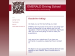 View More Information on Emerald Driving School