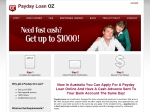 View More Information on Payday Loan Oz