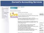 View More Information on Durrant's Accounting Services
