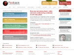 View More Information on Redback Conferencing