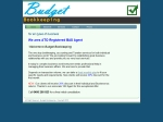 View More Information on Budget Bookkeeping