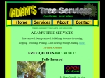 View More Information on Adam's Tree Services
