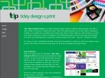 View More Information on Tidey Design & Print