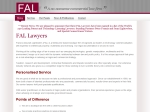 View More Information on Fal Lawyers