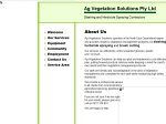View More Information on Ag Vegetation Solutions Pty Ltd