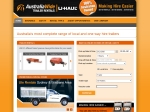 View More Information on Australia Wide Trailer Rentals U-Haul Temora