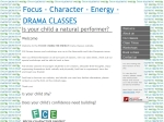 View More Information on Focus Character Energy