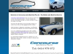 View More Information on Concourse Auto Electrical Pty Ltd