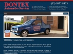 View More Information on Dontex Automotive Services