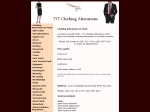 View More Information on Perth Clothing Alterations