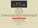 View More Information on Ritt Law