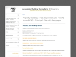 View More Information on Associated Building Consultants & Designers