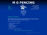 View More Information on MG Fencing