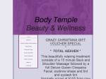 View More Information on Body Temple Beauty
