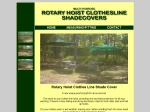 View More Information on Rotary Hoist Clothes Line Shade Covers