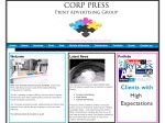 View More Information on Corp Press Web Design Print