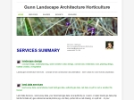 View More Information on Gunn Landscape Architecture Horticulture