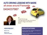 View More Information on Auto Lessons With Marie