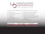 View More Information on Vanguard Marketing Services Group
