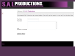 View More Information on S.A.L. Productions