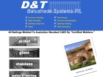 View More Information on D&T Balustrading