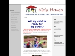 View More Information on Kids Haven Pre-School And Long Day Care Centre