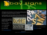 View More Information on Bay Signs