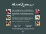 View More Information on About Therapy