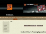 View More Information on Pro Frame Design Pty Limited