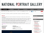 View More Information on National Portrait Gallery Library