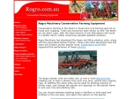 View More Information on Rogro Machinery Sales Pty Ltd