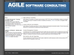 View More Information on Agile Software Consulting