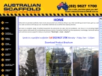 View More Information on Australian Scaffold