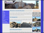 View More Information on Concrete Recyclers Group