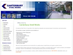 View More Information on Canterbury Steel Works