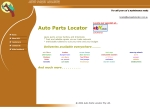 View More Information on Auto Parts Locator