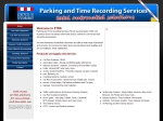 View More Information on Parking And Time Recording Services