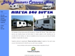 View More Information on Baby Boomers Caravan Hire