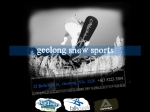 View More Information on Geelong Snowsports