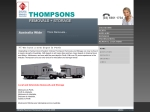 View More Information on Thompson Removals & Storage