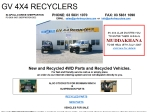 View More Information on GV 4x4 Recyclers