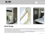 View More Information on Blind Design