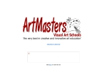 View More Information on Artmasters Visual Art Schools