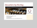 View More Information on Decanters By The Bay