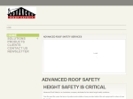 View More Information on Advanced Roof Safety