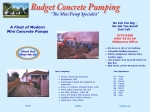 View More Information on Budget Concrete Pumping