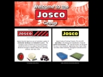 View More Information on Josco Surface Finishing Products Pty Ltd