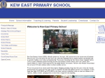 View More Information on Kew East Primary School